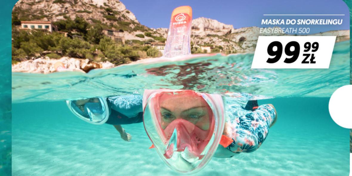 Decathlon: 99,99 zł za maski do snorkelingu