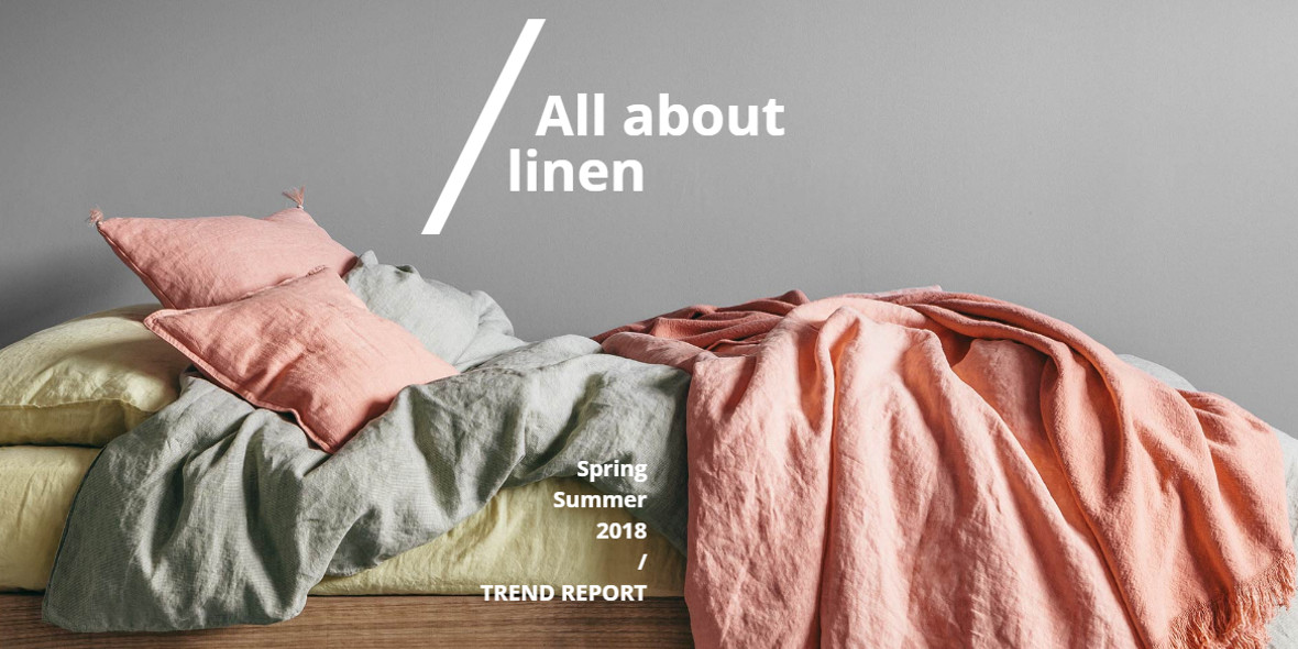 All about linen Spring/Summer 2018