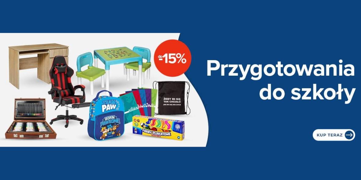Carrefour: Do -15% na produkty do szkoły 04.08.2021