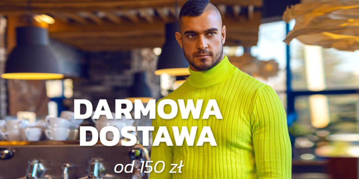 Denley:  Darmowa dostawa 01.01.0001