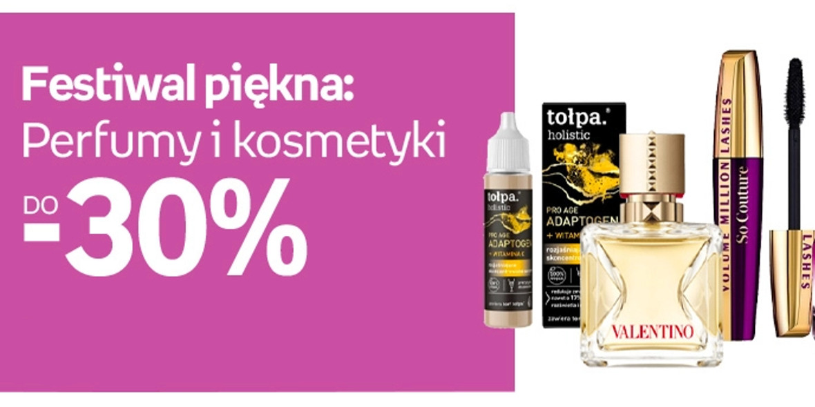 Empik: Do -30% na perfumy i kosmetyki 12.04.2021