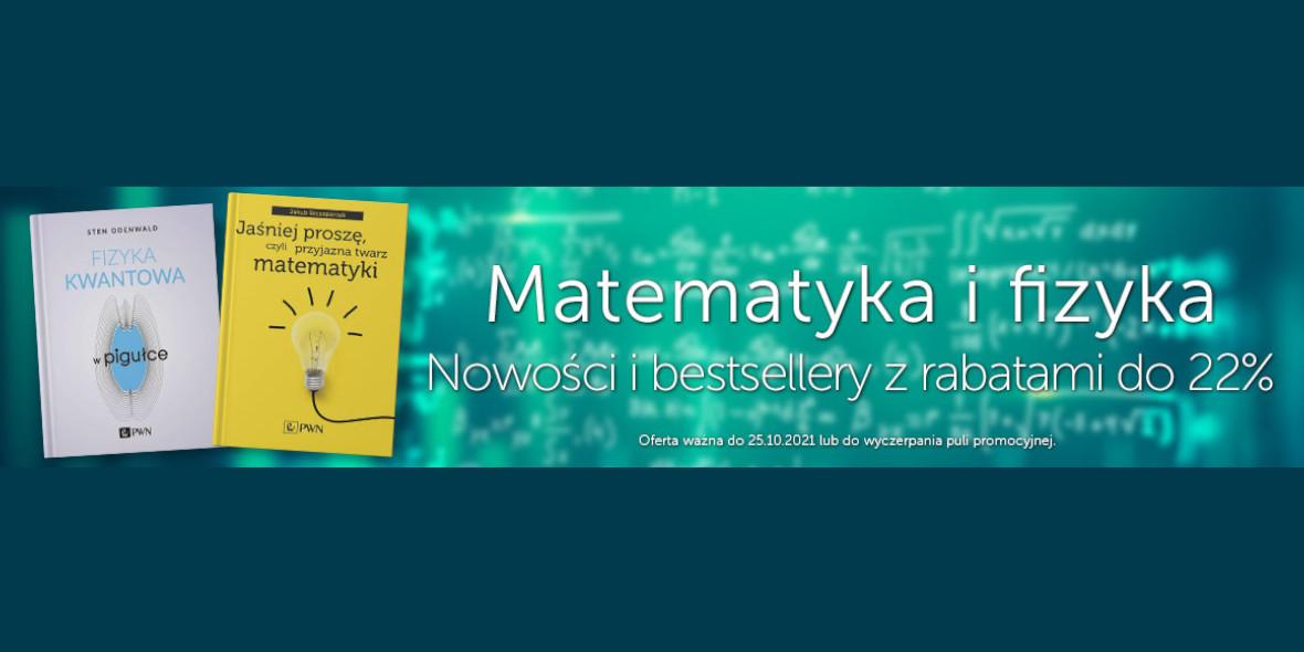 Księgarnia Internetowa PWN: Do -22% na pozycje z kategorii Matematyka i Fizyka 12.10.2021