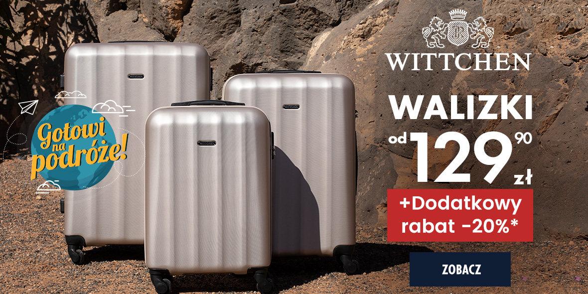Wittchen: -20% na walizki 25.02.2021
