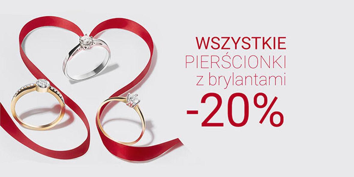 Virago: -20% na wszystkie pierścionki z brylantami