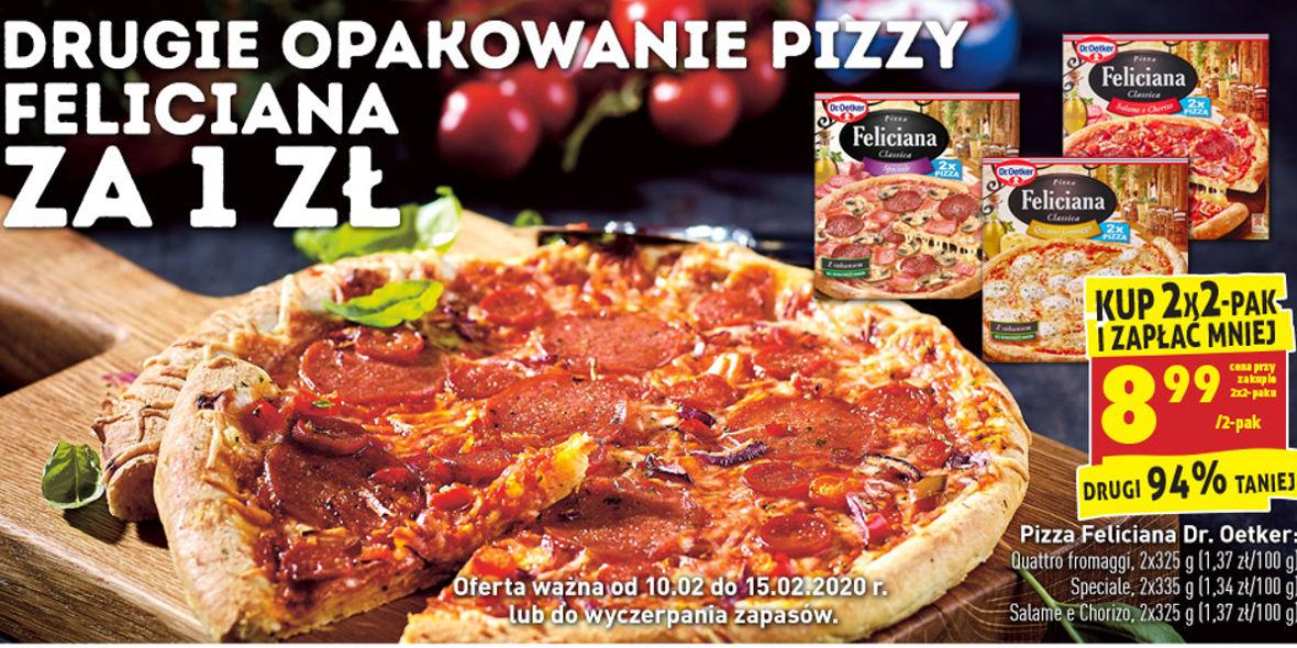 2-pak pizzy Felicjana Dr. Oetker przy zakupie 2