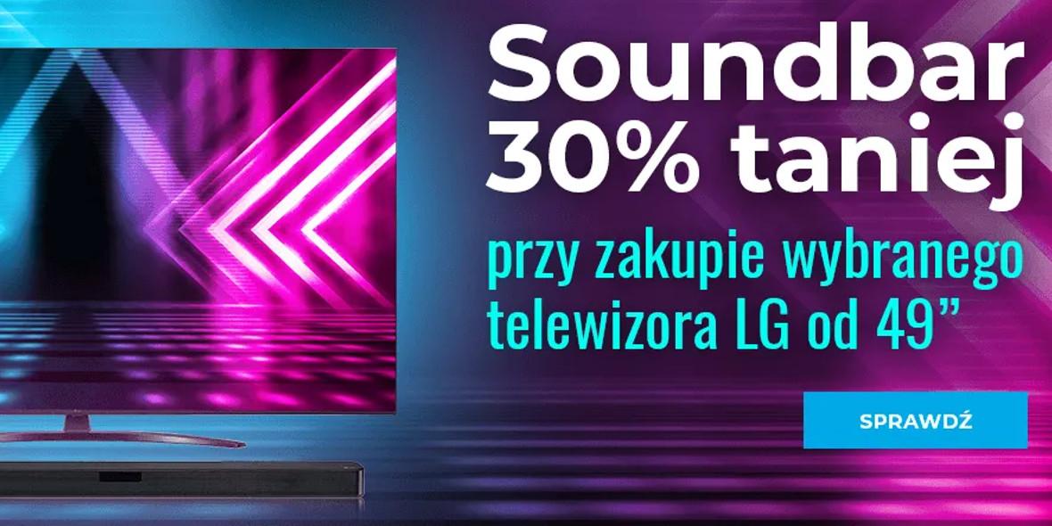 NEO24: -30% na wybrane soundbary 27.09.2021