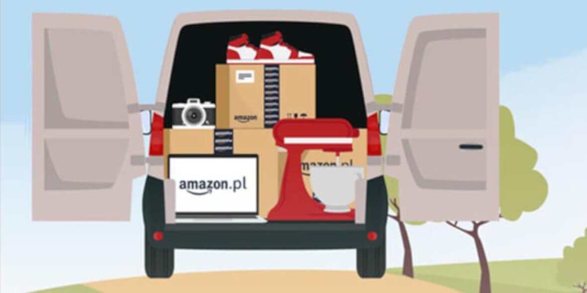 Amazon:  Darmowa dostawa od 40 zł 01.09.2021