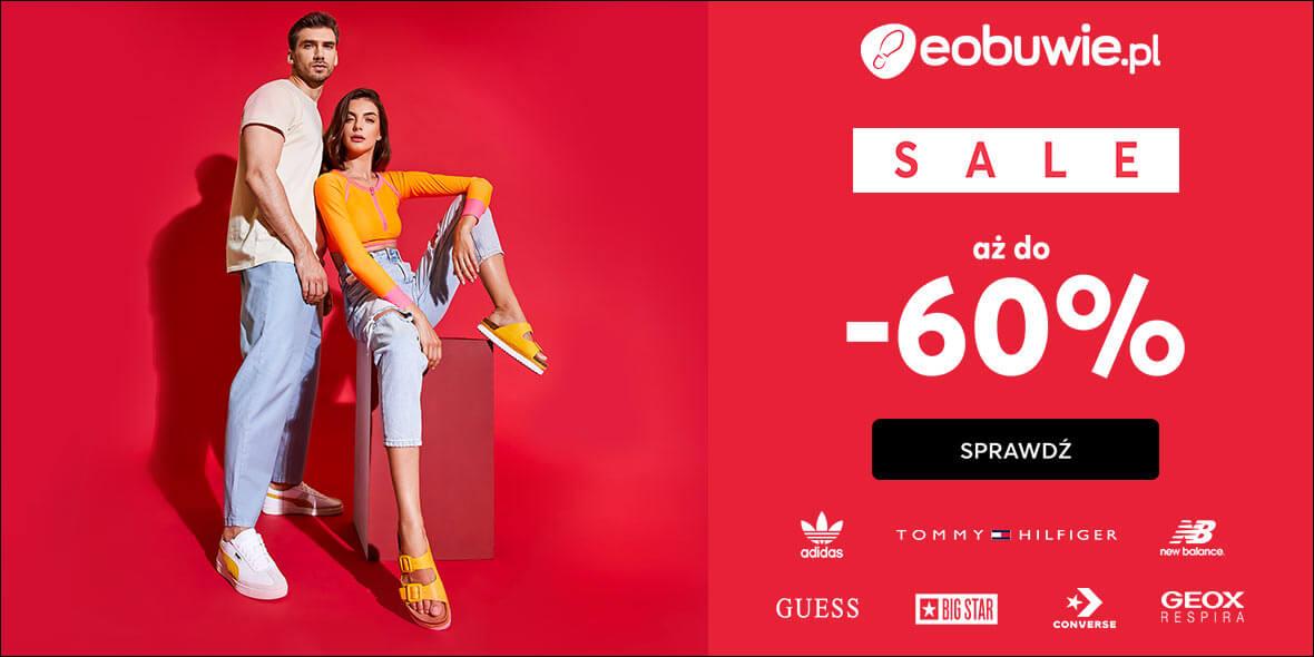 eobuwie.pl: Do -60% na wyprzedaży produktów 01.01.0001