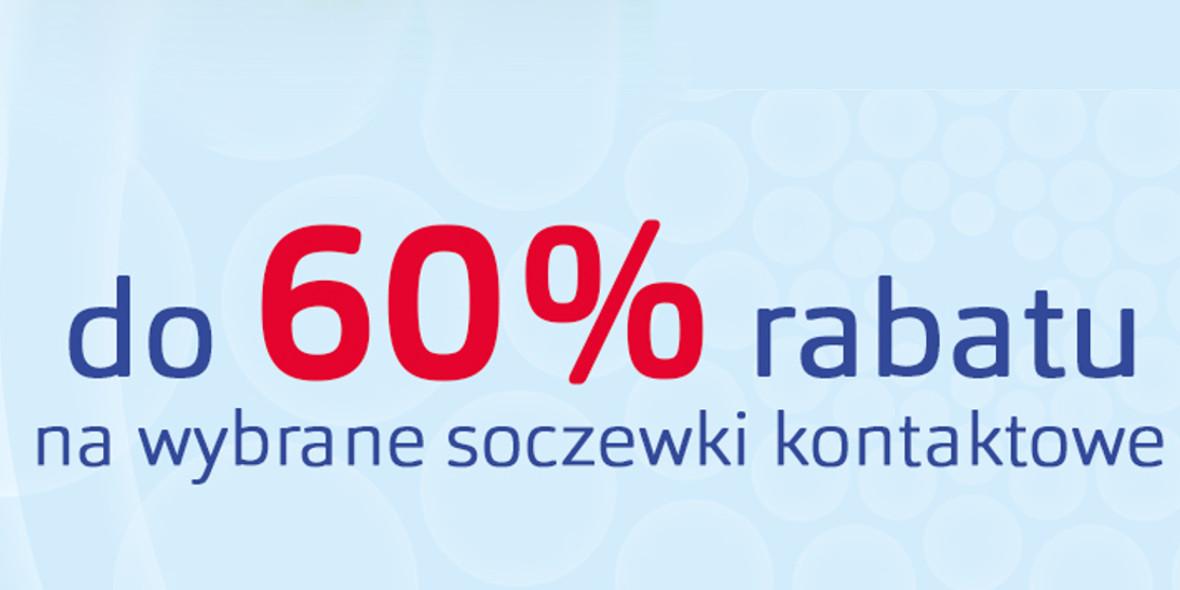 Vision Express: Do -60% na wybrane soczewki kontaktowe