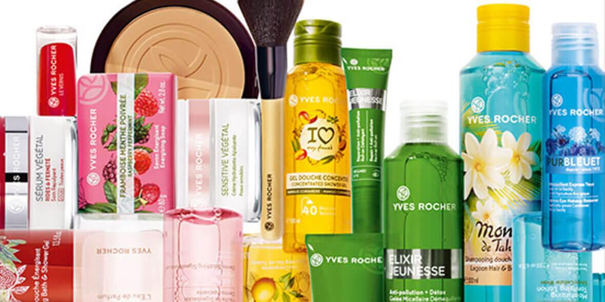 Yves Rocher: -40% na dowolny kosmetyk