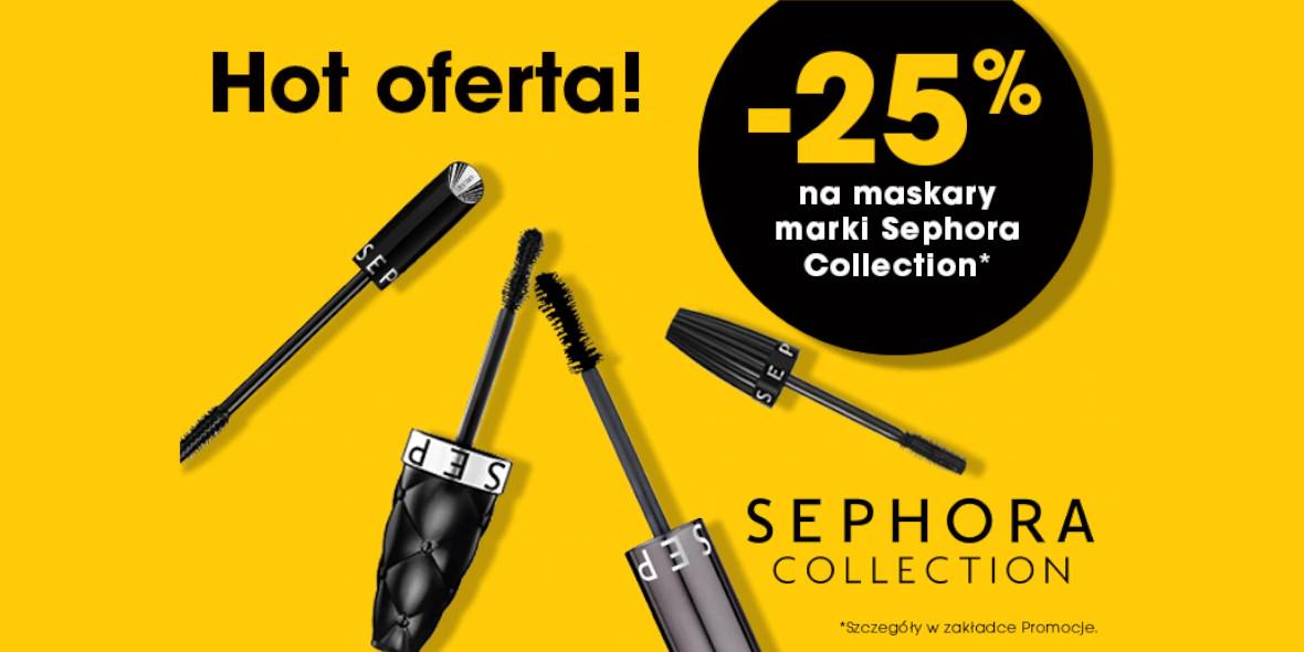 Sephora: -25% ma wybrane maskary 07.04.2021