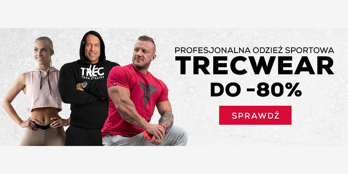 Trec.pl: Do -80% na odzież treningową