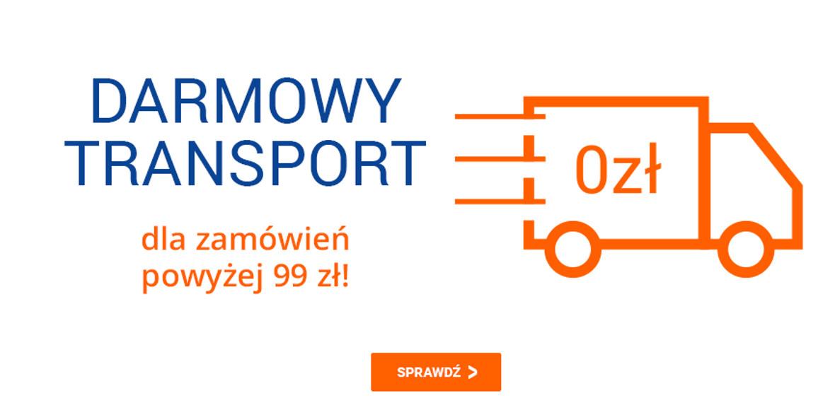 Avans:  Darmowy transport dla zamówień powyżej 99 zł 08.05.2021