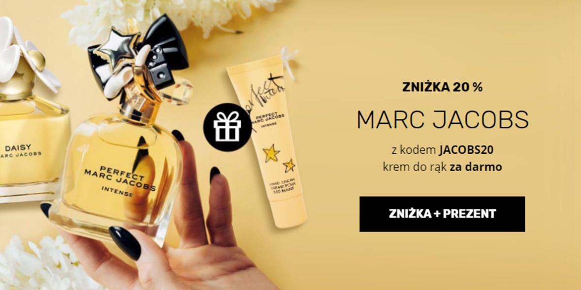 Elnino Parfum: Kod: -20% na produkty Marc  Jacobs + prezent 11.10.2021