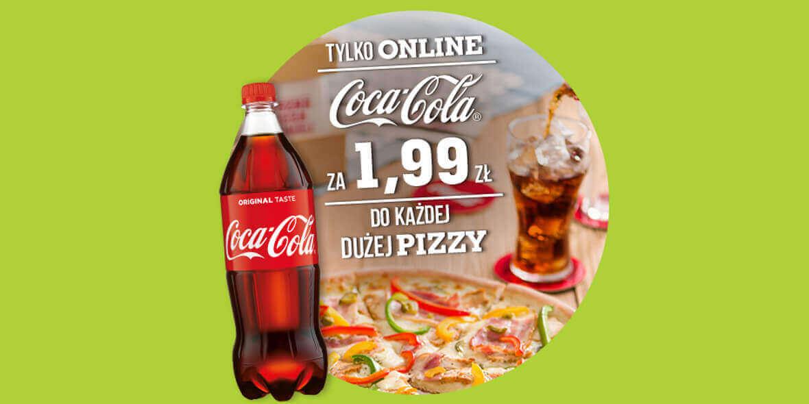 za napój Coca-Cola