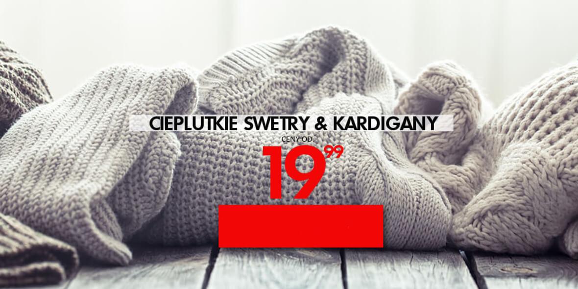 za swetry i kardigany