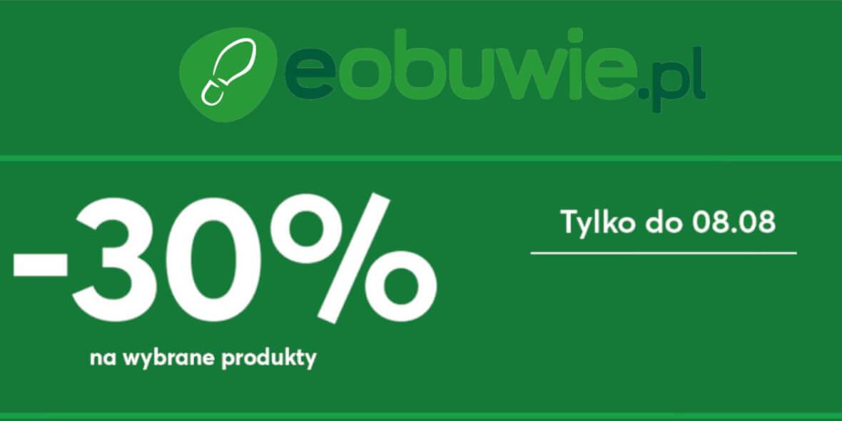 eobuwie.pl: Kod: -30% na wybrane produkty 03.08.2021