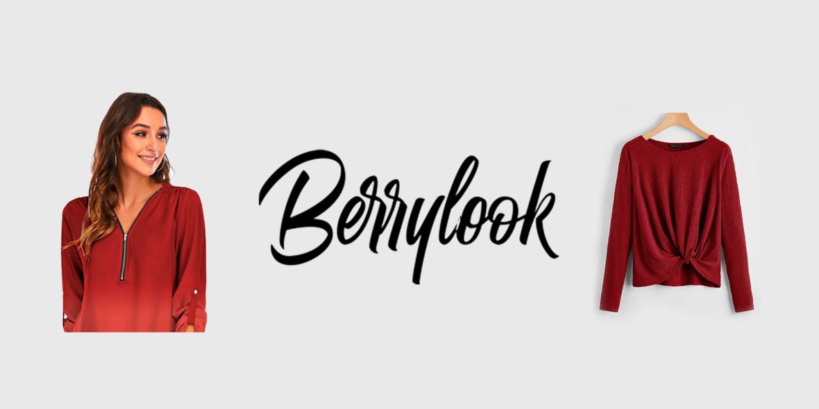 Berrylook: Kod: do -30$ na wszystko w BerryLook 29.12.2020