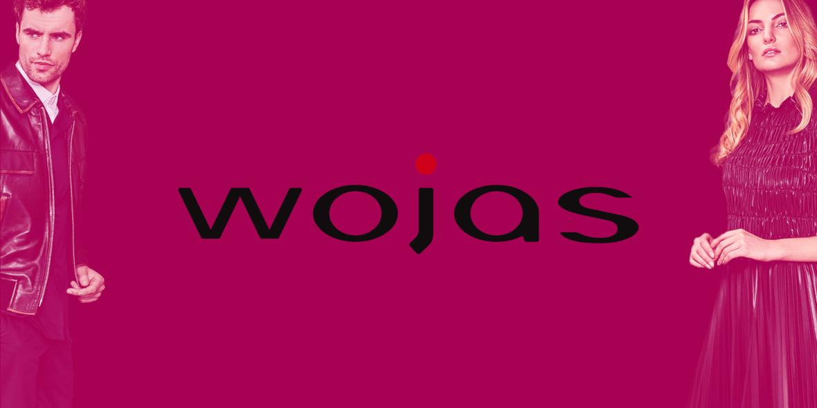 Wojas: -5% na cały asortyment w  CH Platan 14.03.2019