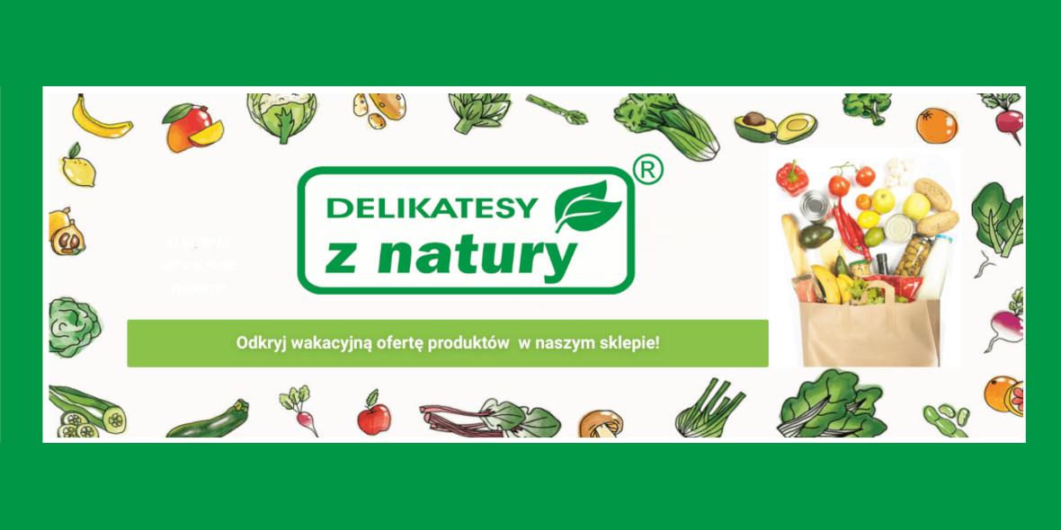 Delikatesy z natury: Kod: -15% na Twoje zakupy 10.10.2021