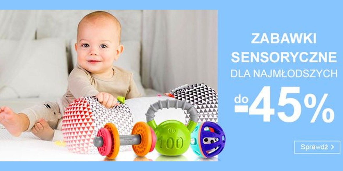Smyk: Do -45% na zabawki sensoryczne dla najmłodszych 13.09.2021