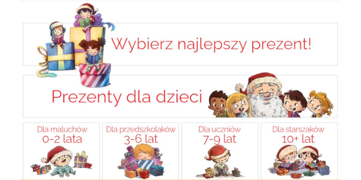 Egmont.pl: Prezenty na Mikołaja 10.11.2020