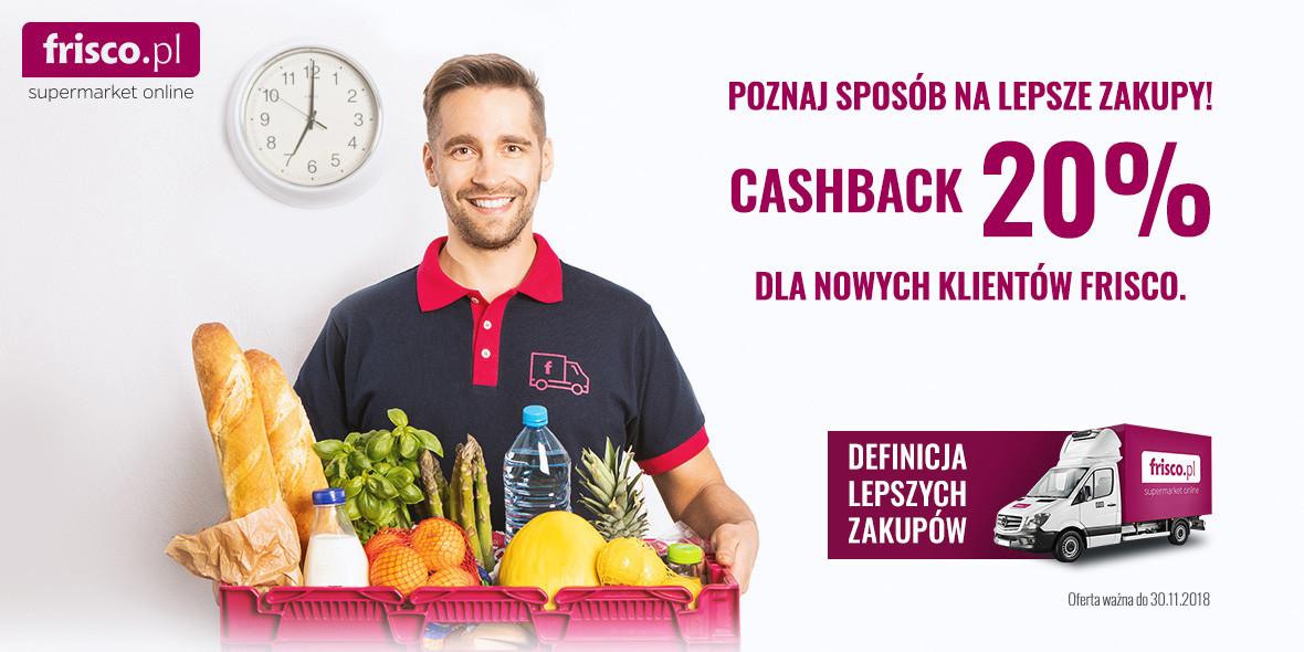 zwrotu cashback za zakupy