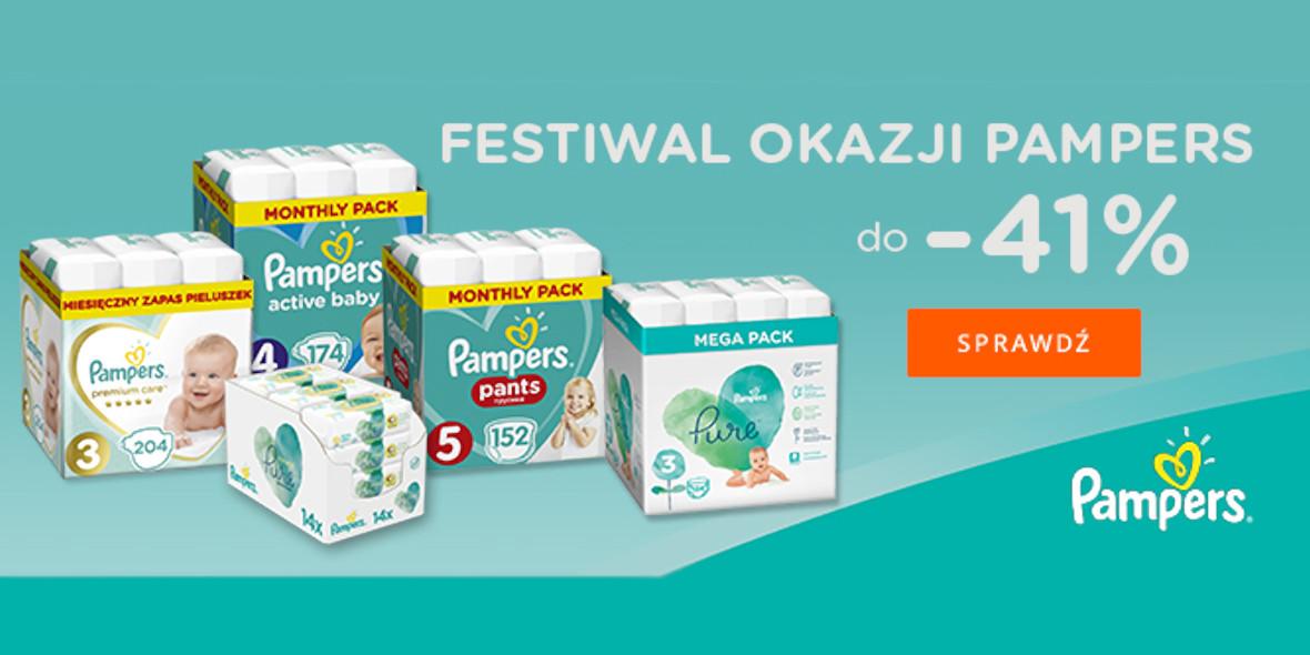 Allegro.pl: Do -41% Festiwal okazji Pampers 13.01.2021