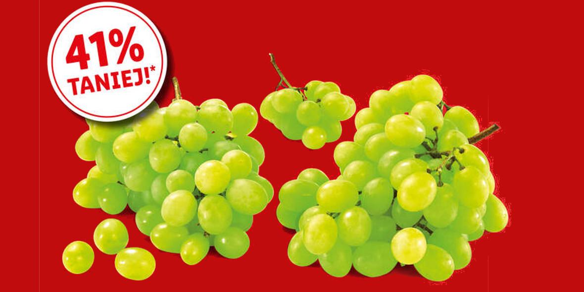 Lidl:  -41% na Winogrona jasne bezpestkowe 21.09.2021