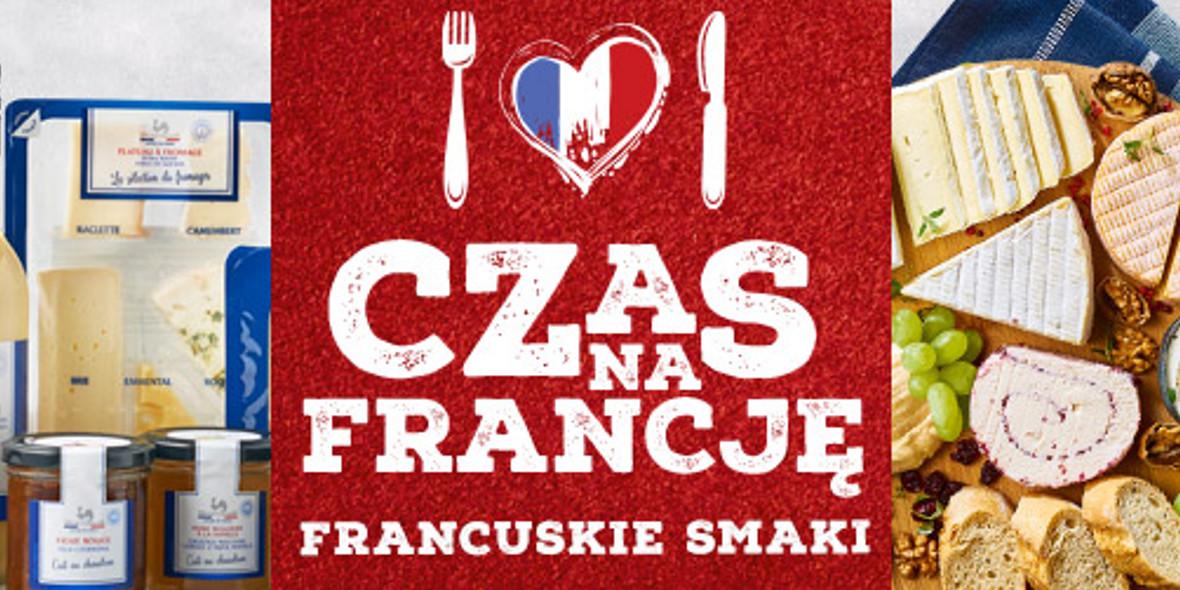 Biedronka:  Francuskie smaki 22.04.2021