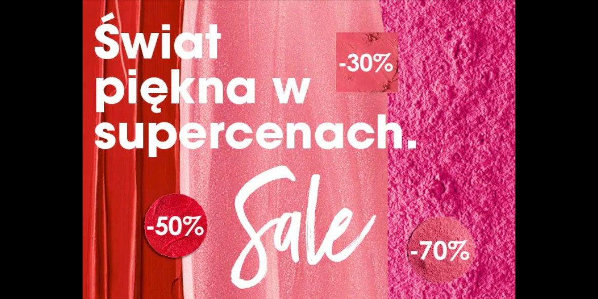 Sephora: Do -70% na wyprzedaży 26.08.2020