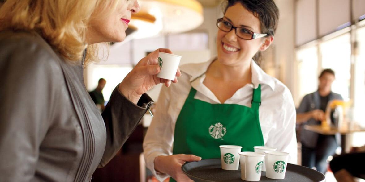 Starbucks: 15 zł za zestaw Flat white+ dowolny muffin 01.01.0001