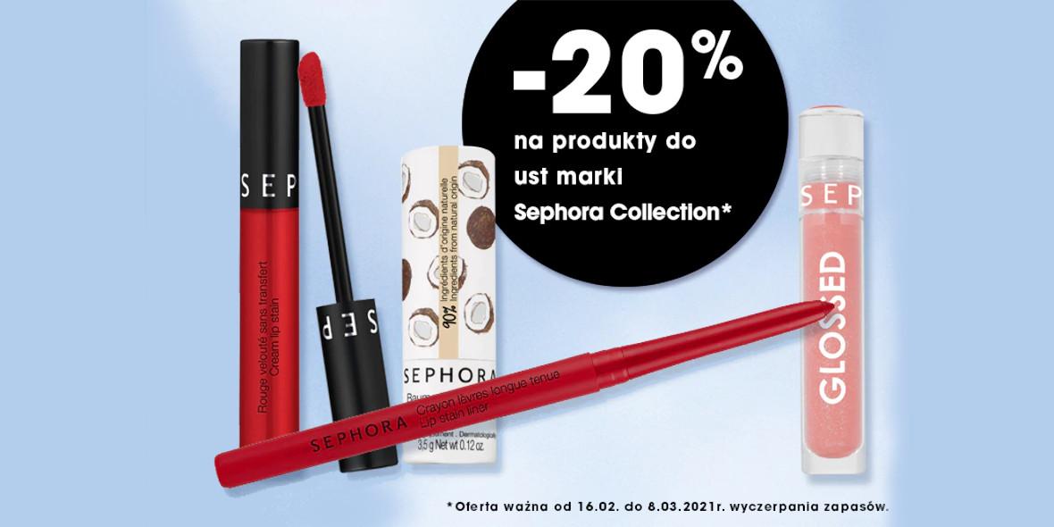 Sephora: -20% na produkty do makijażu ust Sephora Collection