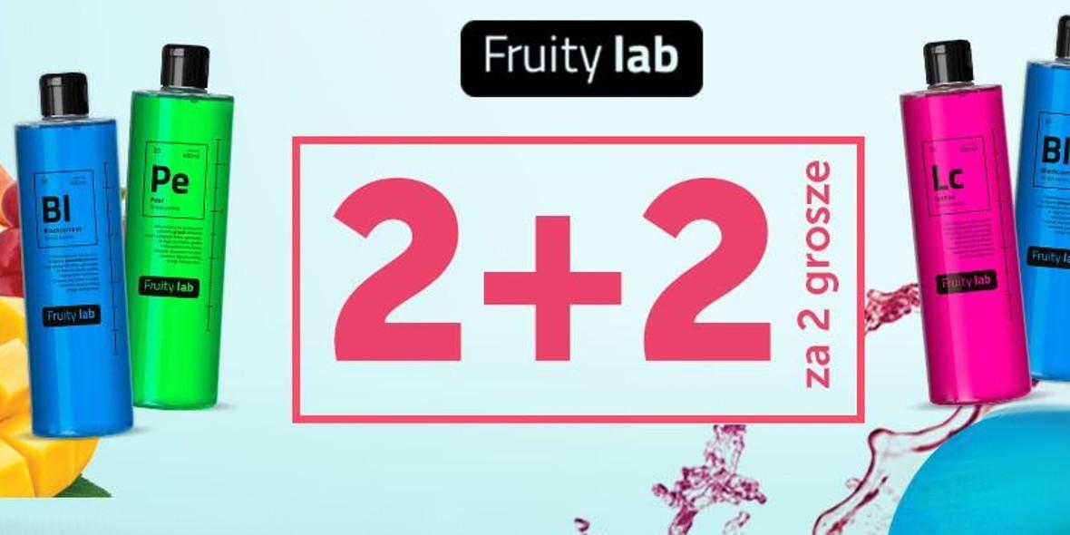 na żele pod prysznic Fruity lab