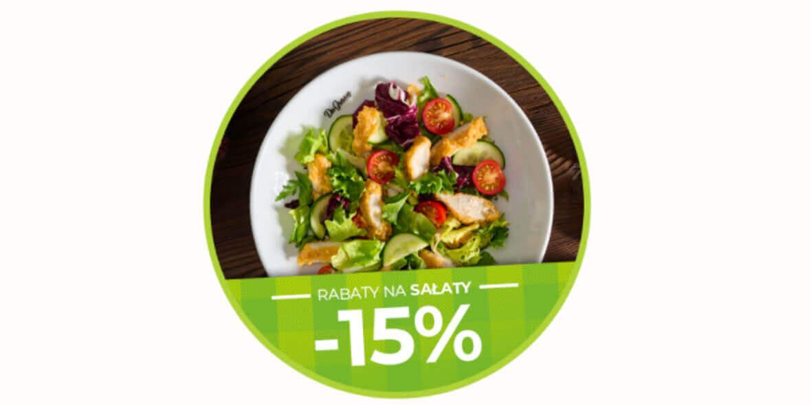 Da Grasso:  -15% na sałaty 01.01.0001