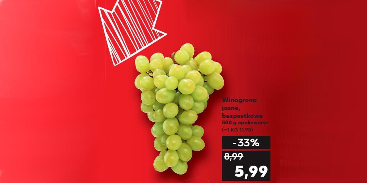na winogrona jasne bezpestkowe