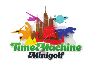 Logo Time Machine Minigolf