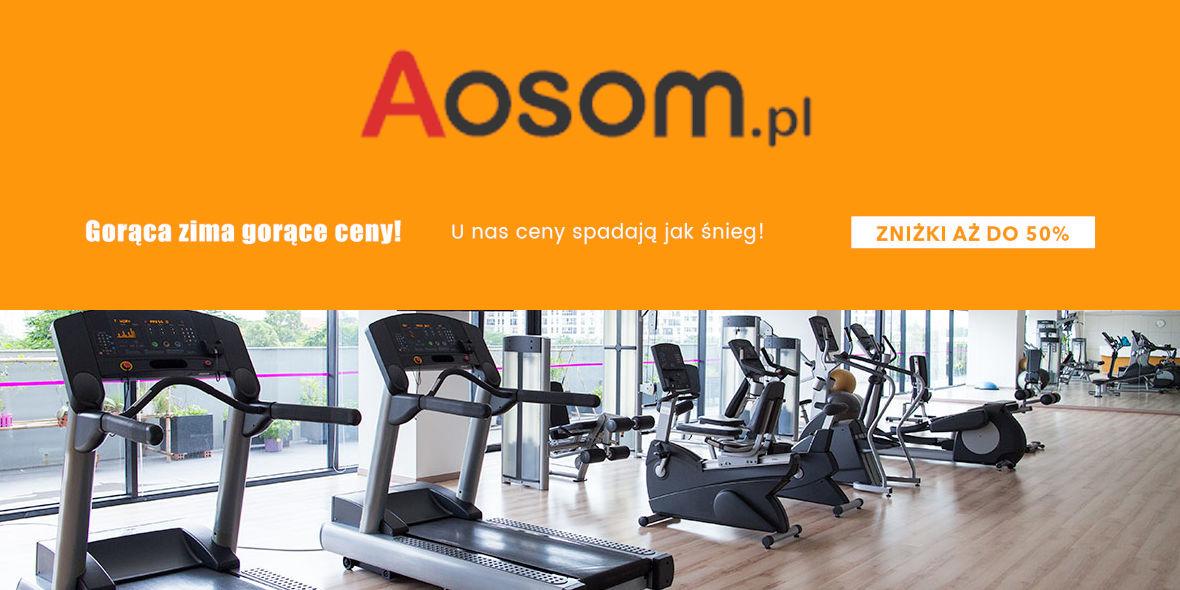 Aosom.pl: Do -50% na kategorię Sport i wypoczynek