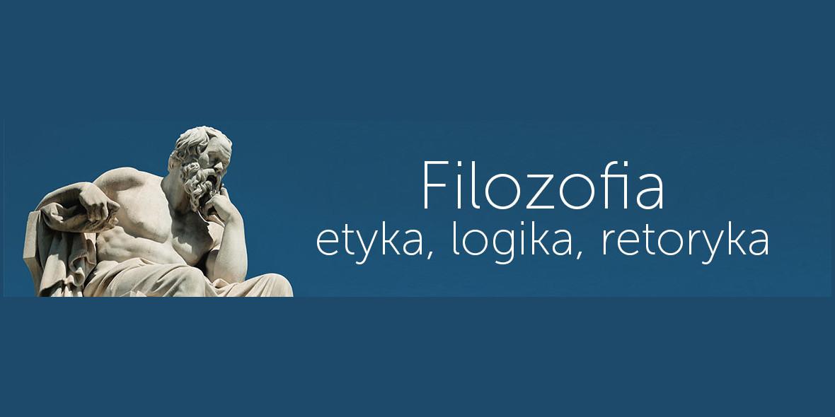 Księgarnia Internetowa PWN: Do -22% Filozofia, etyka, logika, retoryka 24.10.2021