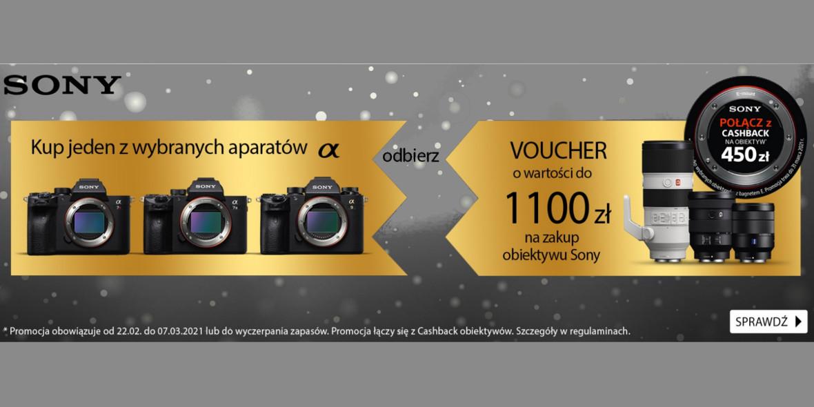 FotoForma: Voucher o wartości do 1100 zł na zakup obiektywu