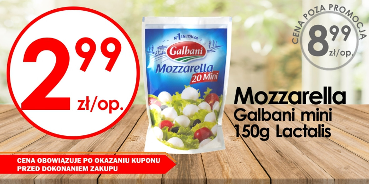 za Mozzarella Galbani mini