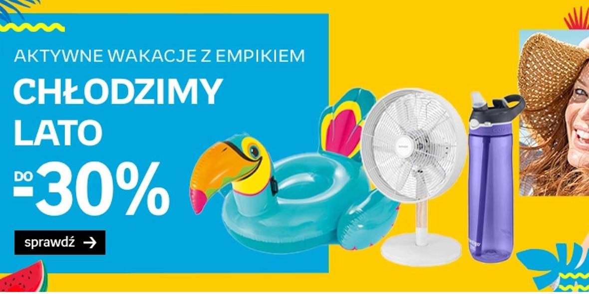 Empik: Do -30% na letnie ochłodzenie