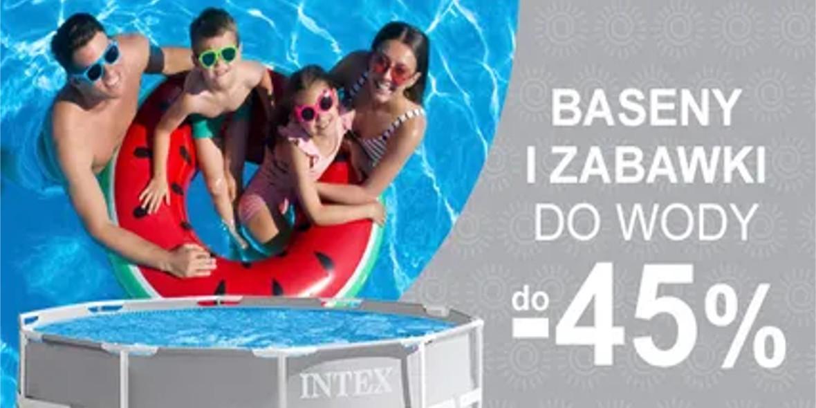 Smyk: Do -45% na baseny i zabawki wodne 23.06.2021