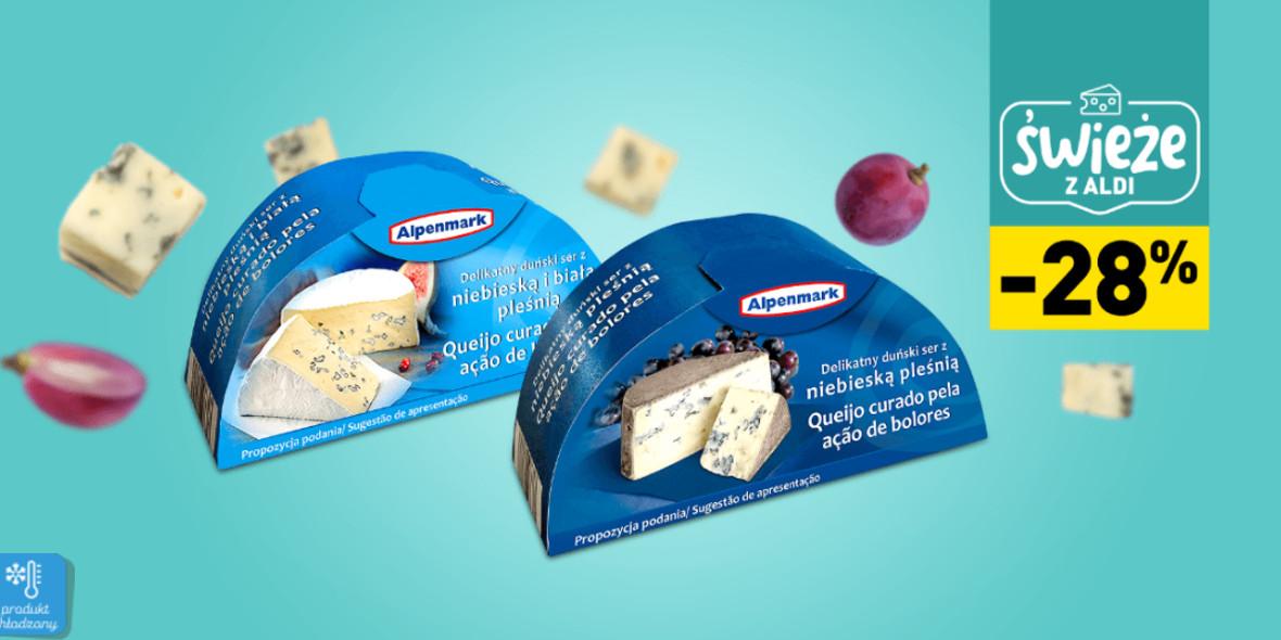 Aldi: -28% na ser pleśniowy 23.11.2020