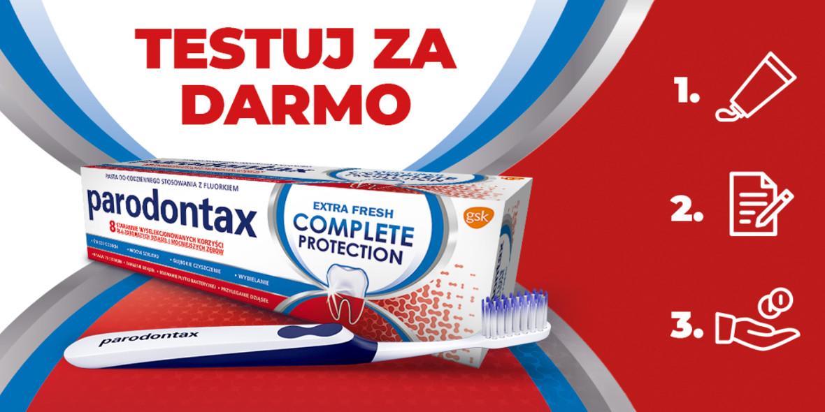 Testuj za darmo produkty Parodontax
