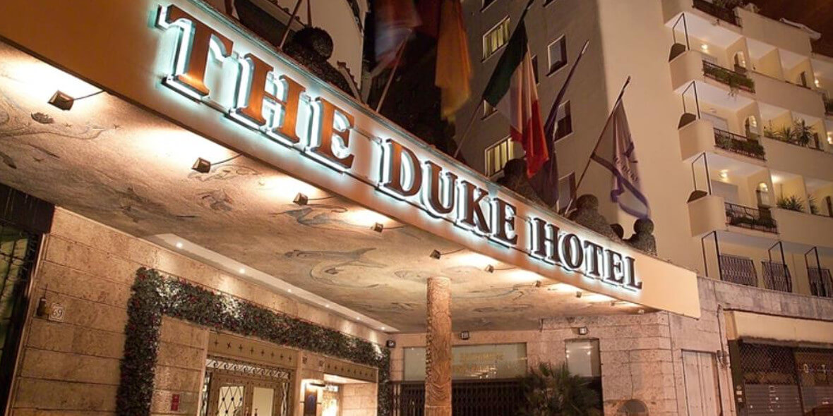 na pobyt w The Duke Hotel w Rzymie