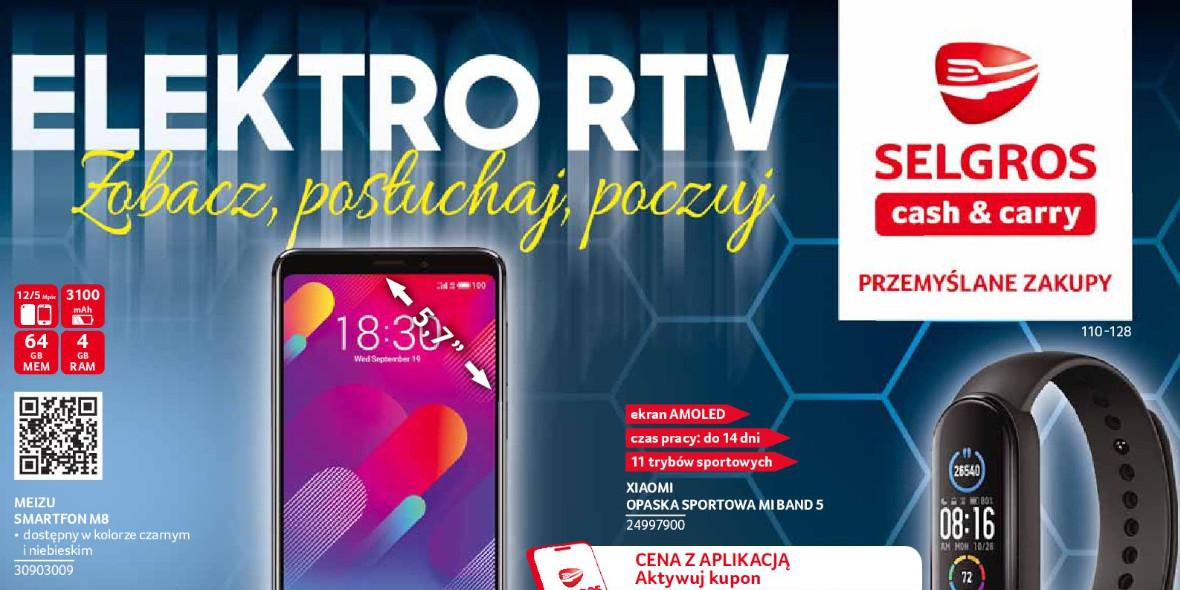 Selgros:  Oferty Elektro RTV w Selgros 10.06.2021