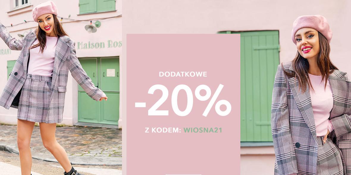 Butik I like!:  Kod: -20% dodatkowe na nowości 04.03.2021