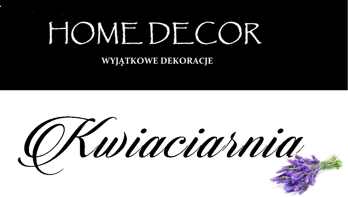 Logo Kwiaciarnia Home Decor