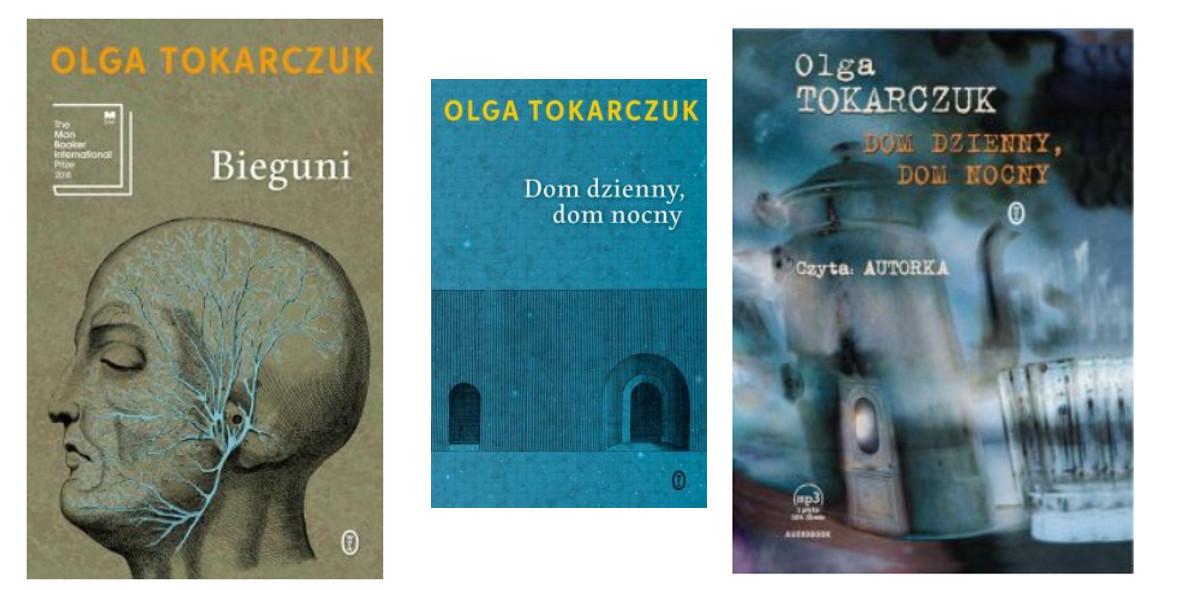 na książki Tokarczuk